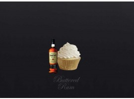 Buttered Rum Cupcake