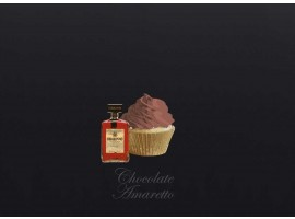Chocolate Amaretto Cupcake