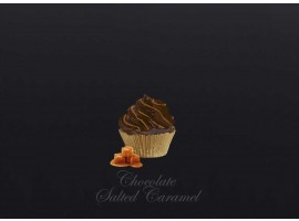 Dark Chocolate & Salted Caramel Cupcake