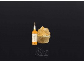 Honey Whisky Cupcake